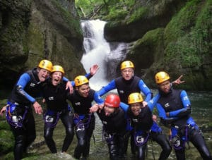 Canyoning à Malvaux