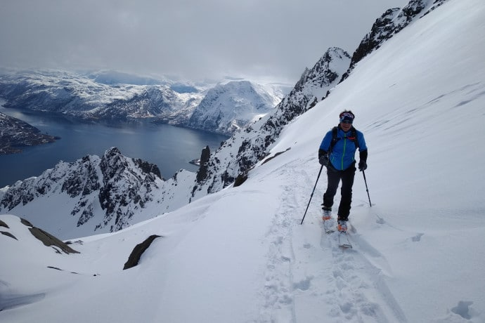 Ski de randonnée au Finnmark