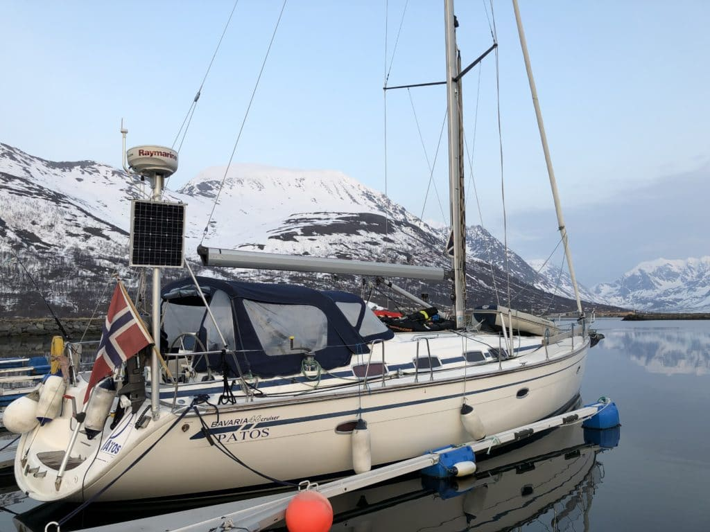 Bateau pour le séjour ski et voile en Norvège
